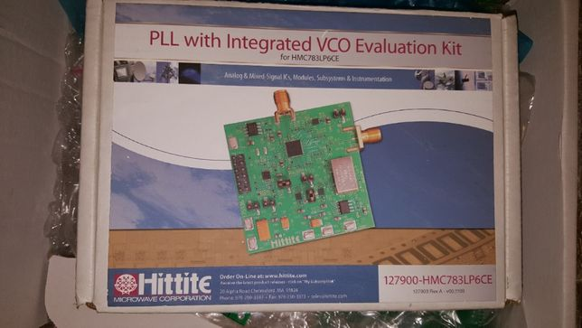 Hittate - PLL with integrated VCO Evaluation Kit for HMC783LP6CE