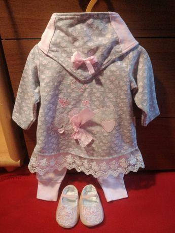 Комплект платье на девочку