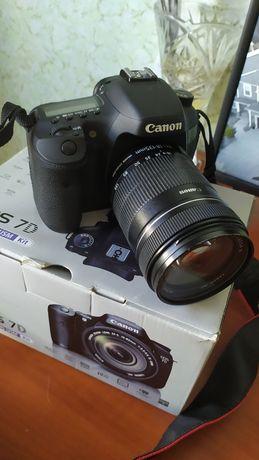 Новый Canon 7d + объектив