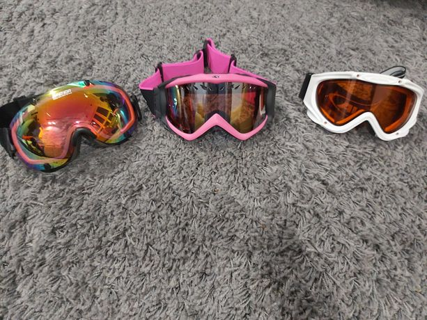 Gogle narciarskie