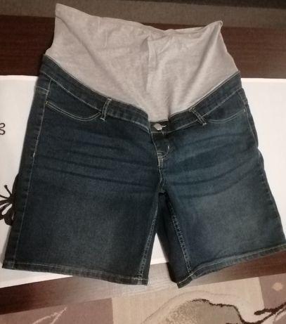 Spodenki jeansowe ciążowe Esmara z pasem na brzuch 44