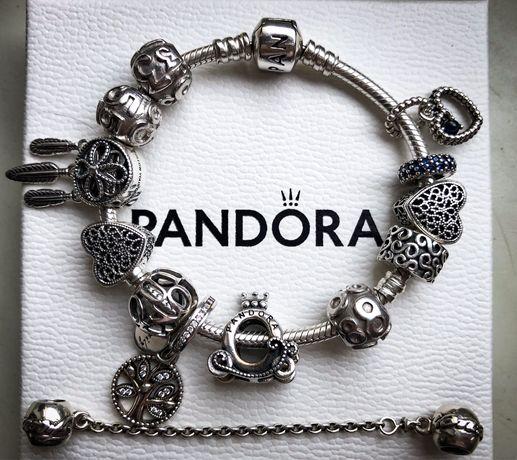Nowe Charms charmsy klips łańcuszek Pandora tt oryginalne