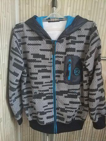 Детская куртка ветровка кофта для мальчика р.122-128