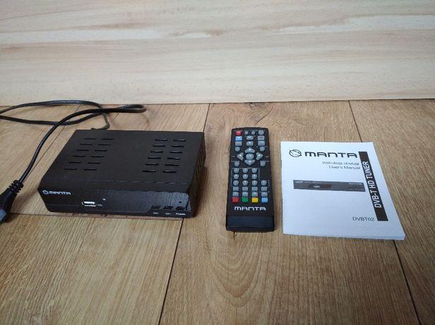 Dekoder TV MANTA DVBT010S wysyłka OLX 5 zł