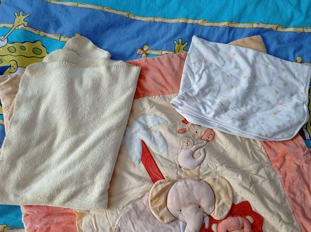 Детский развивающий коврик одеяла покрывала защита в манеж