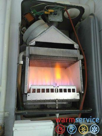 Ремонт та промивка газових котлів, колонок і бойлерів