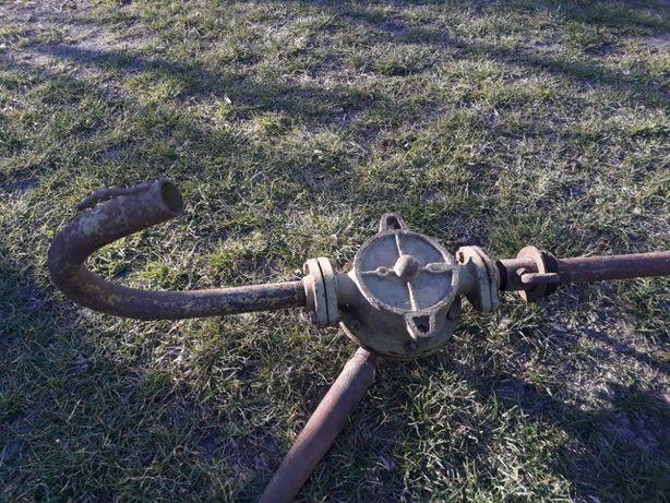 Pompa ręczna Extra Lech nr 2 skrzydełkowa rotacyjna korbowa