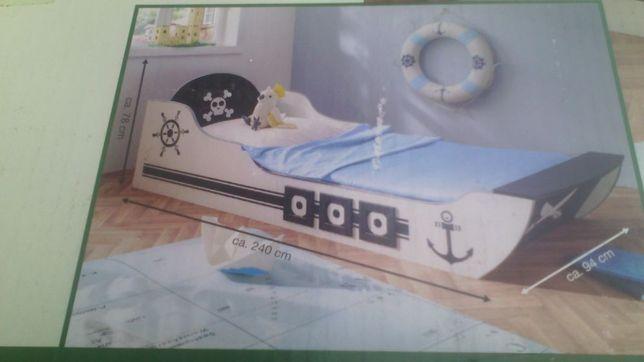 Lozka dla dzieci pirat