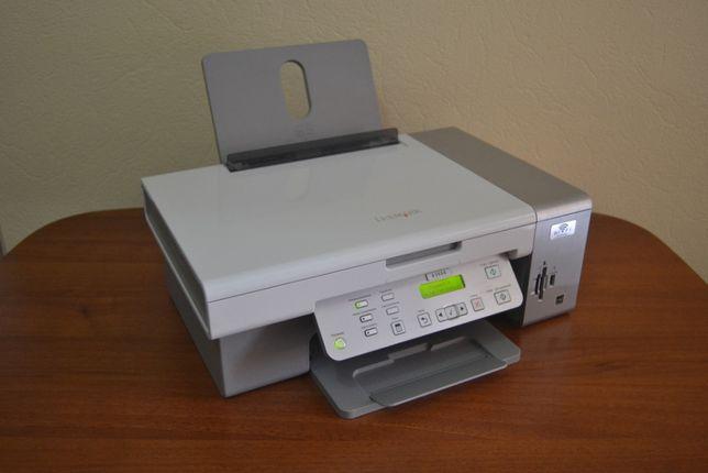 МФУ (принтер, сканер) Lexmark X3550