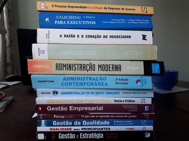 Livros tecnicos de Gestão