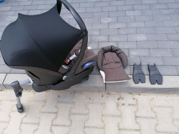 Fotelik samochodowy maxi cosi plus baza maxi cosi z adapterami