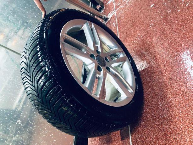 Felgi audi i opony koła komplet Michelin crossclimate 245/45 r18