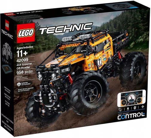 Lego Technic 42099 NOWE zdalnie sterowany pojazd 4x4 terenowy