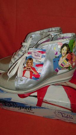 Buty damskie koturny Disney Violetta r 35 nowe