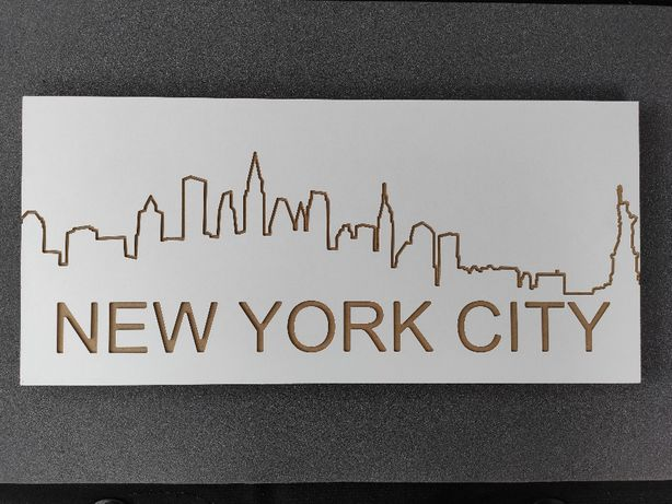 Fronty meblowe frezowane 3D New York loft