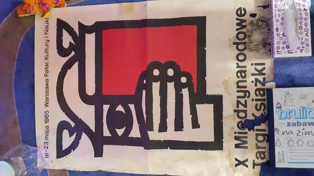 Plakat X Międzynarodowych Targów Książki