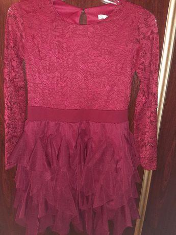 Sukienka dla dziewczynki 12 lat (założona 1 raz )