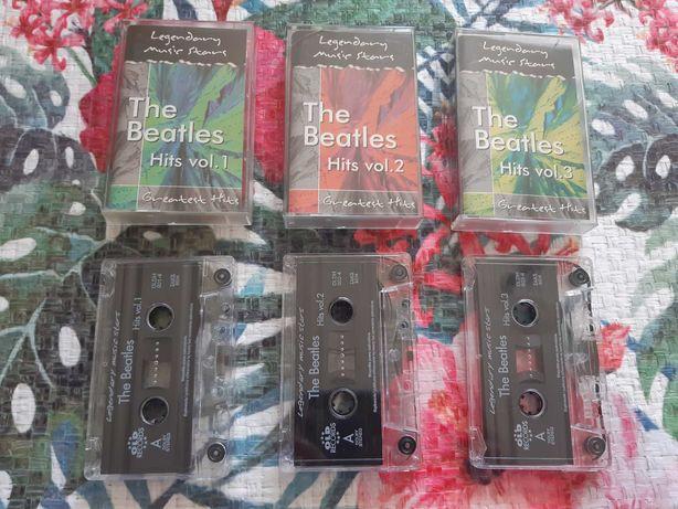 The Beatles Hits vol.1 vol.2 vol.3 The greatest Hits kasety audio