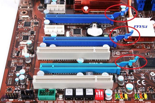 Clip PCI-E para motherboard