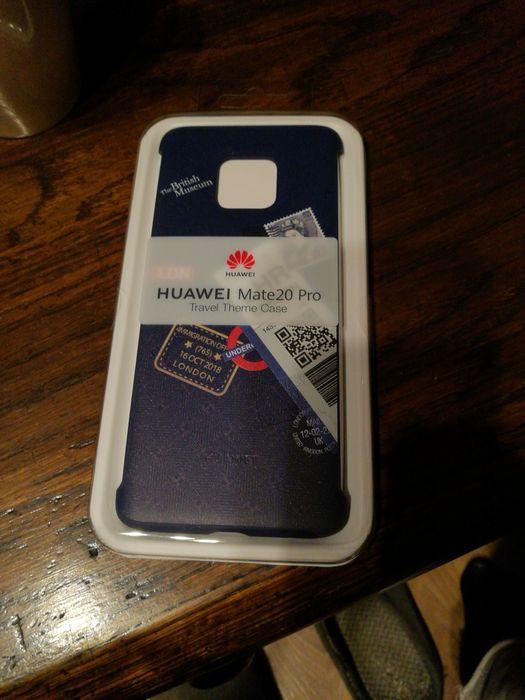 Etui Huawei Mate 20 Pro - London niebieskie - case plecki oryginalne Kraków - image 1