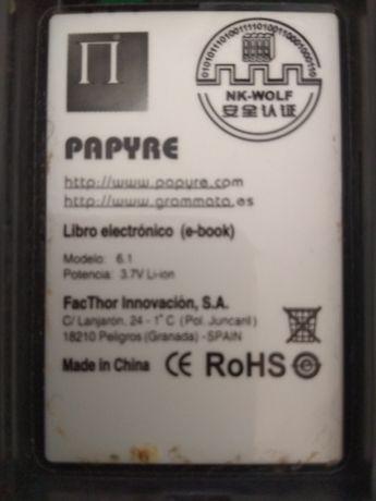 Електронна книжка Papyre