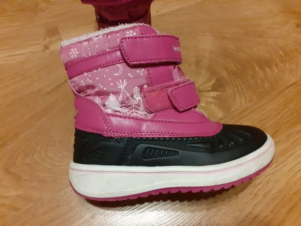 Buty śniegowce dla dziewczynki rozm 28