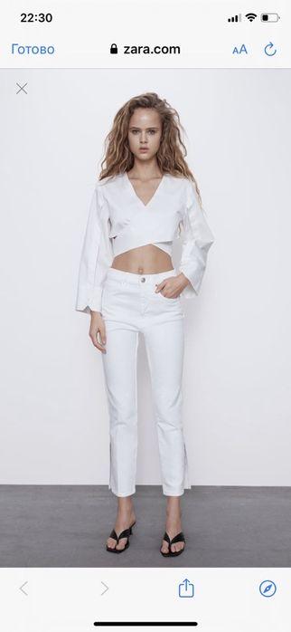 Продам белые джинсы Зара Запорожье - изображение 1