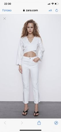 Продам белые джинсы Зара