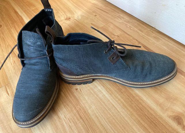Кожаные демисезонные ботинки, фирменные Испания. Размер 42