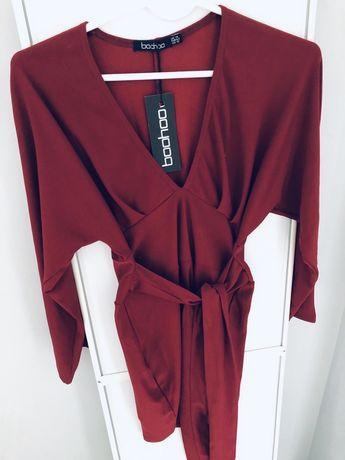 Boohoo sukienka wiązana xs