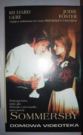 Sommersby kaseta vhs wideo Richard Gere Jodie Foster