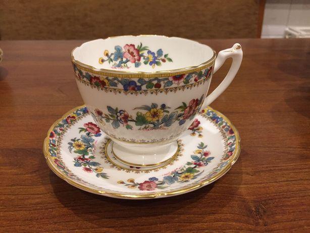 Zestaw porcelany Coalport Ming Rose