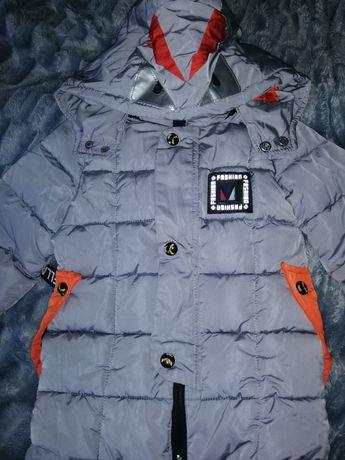 Куртка-пальто на хлопчика