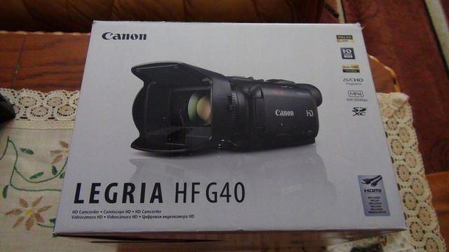 Kamera CANON HF G40, nie sony, nie panasonic. NOWA nieużywana. OKAZJA