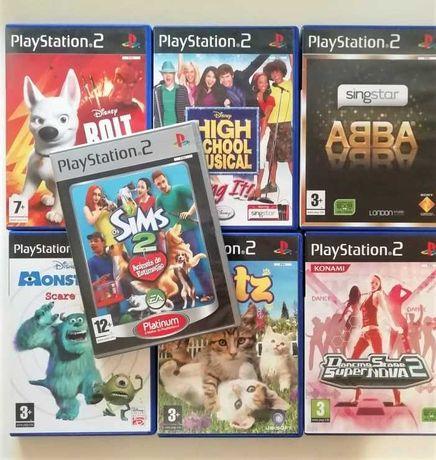 PS2 - 22 Jogos originais