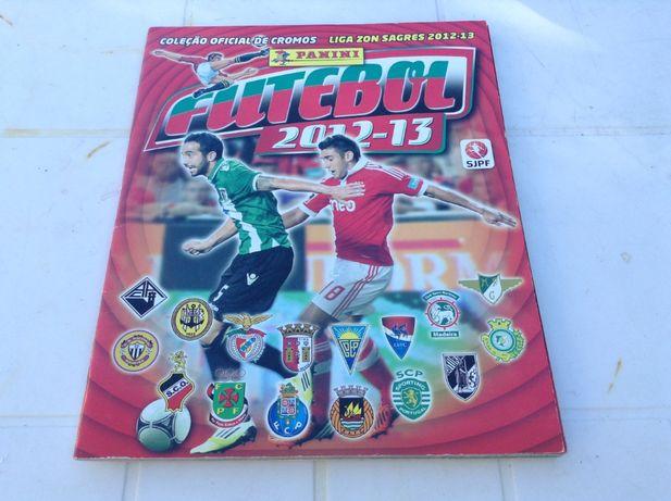Caderneta Liga PORTUGUESA 2012-13 - Futebol PANINI completa -cromos