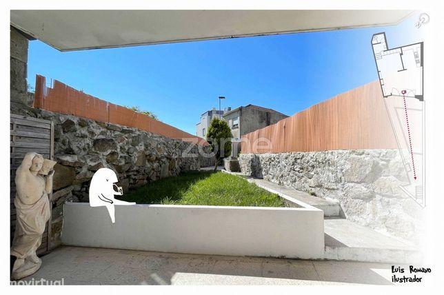 T0 com jardim, Cedofeita, Porto