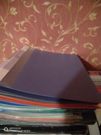 Папки, скоросшиватели, блокноты, блок для заметок