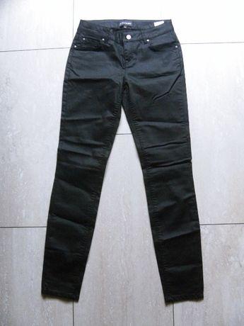 Nowe woskowane spodnie rurki Bon Prix Bodyflirt 34,XS