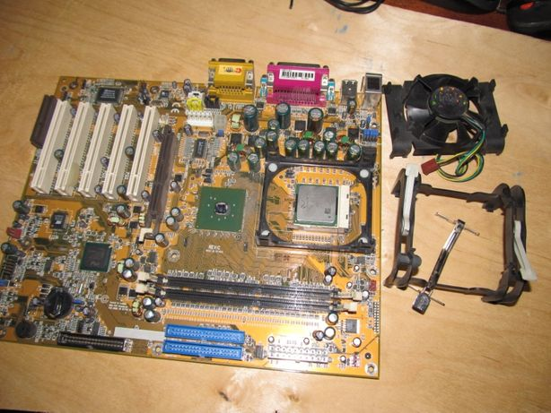 Материнская плата rev:c Pentium 1,6A /512/400/ 1.5 V SL668 Costa rica