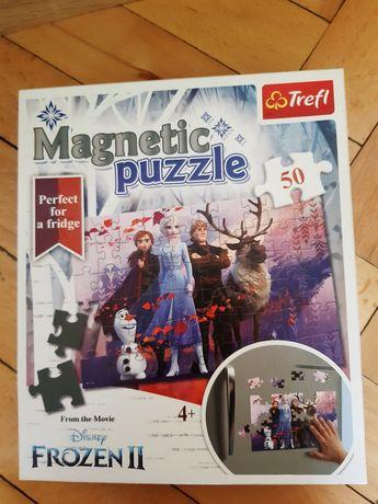 Puzzle magnetyczne Kraina lodu