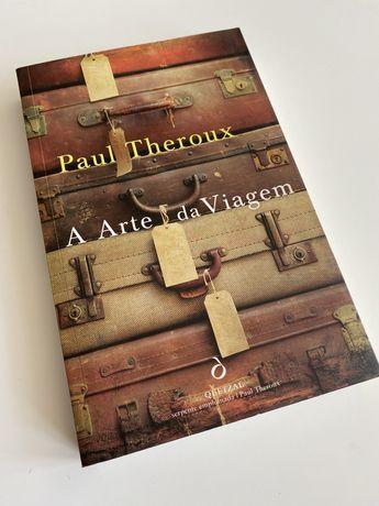 """Livro """"A arte da viagem"""" de Paul Theroux - Quetzal"""