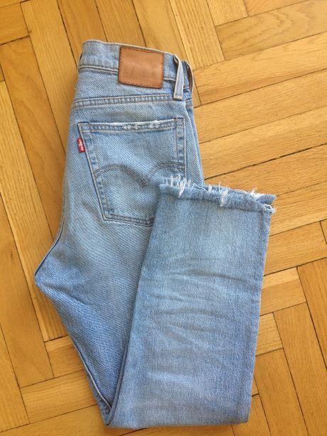 Levis spodnie damskie jeans