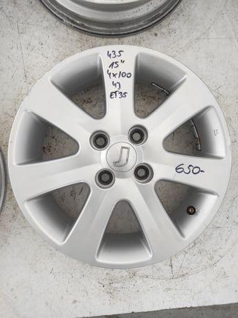 435 Felgi aluminiowe ORYGINAŁ. MITSUBISHI R 15 4x100