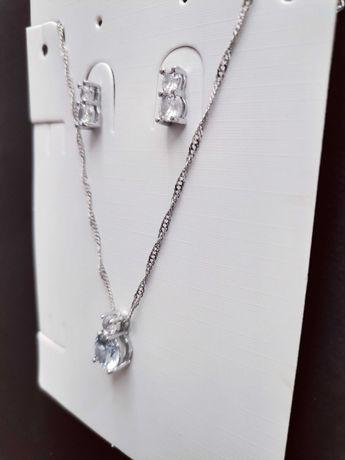 Komplet biżuterii 925