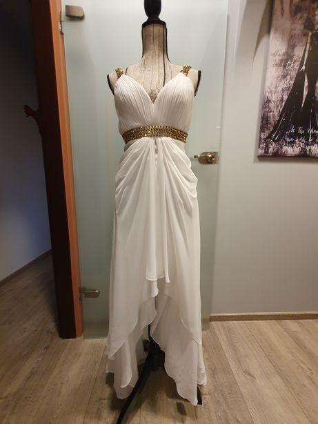 Sukienka Paula Richi. Wieczorowa albo ślubna