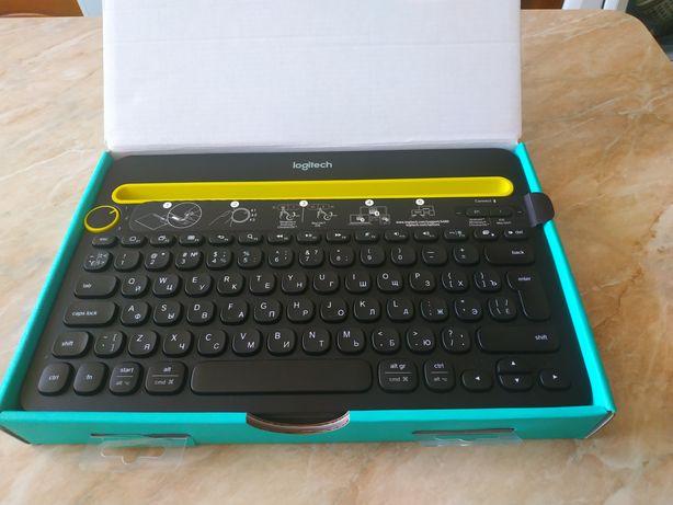 Клавіатура, клавиатура Logitech K480 до планшета, телефона, комп'ютера