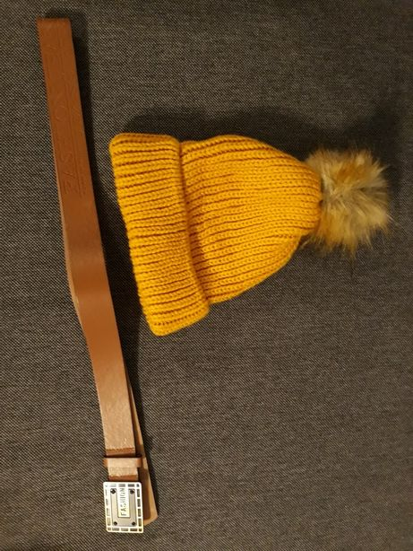 Pasek i czapka