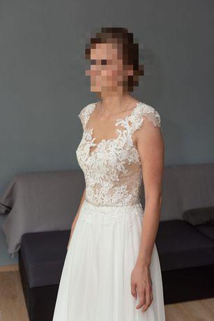 Suknia. . ślubna.
