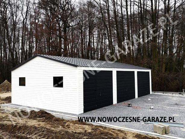 Nowość! Garaże drewnopodobne Blacha imitacja drewna! PROFIL ZAMKNIĘTY